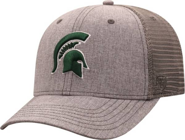 Top of the World Men's Michigan State Spartans Grey ATM Adjustable Hat product image