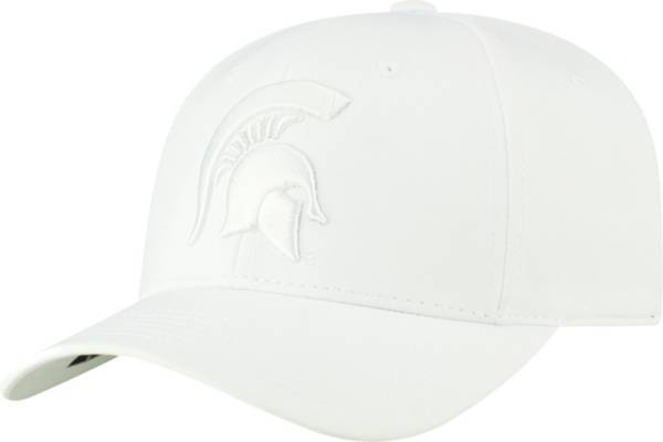 Top of the World Men's Michigan State Spartans Phenom 1 1Fit Flex White Hat product image