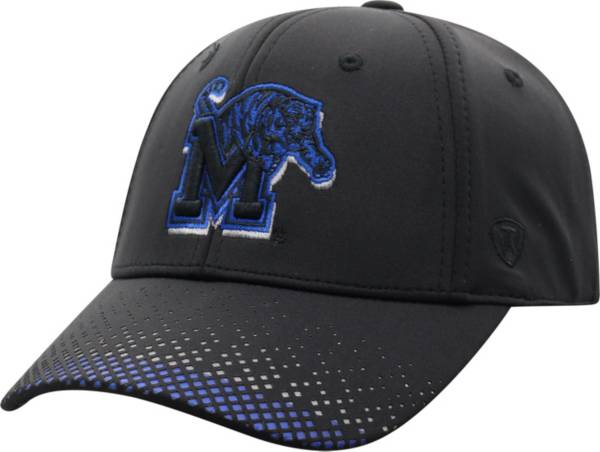 Top of the World Men's Memphis Tigers Lumens 1Fit Flex Black Hat product image