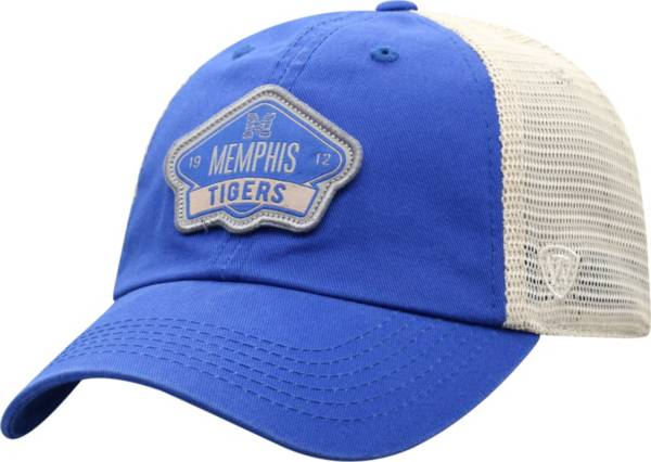 Top of the World Men's Memphis Tigers Blue/Khaki Nitty Adjustable Hat product image