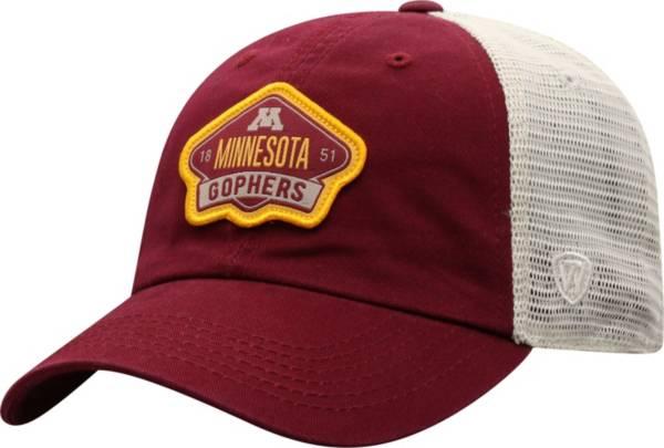 Top of the World Men's Minnesota Golden Gophers Maroon/Khaki Nitty Adjustable Hat product image