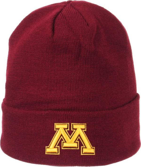 Zephyr Men's Minnesota Golden Gophers Maroon Cuffed Knit Beanie product image