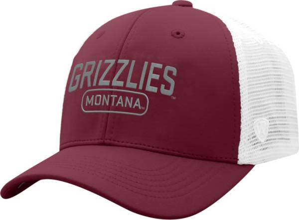 Top of the World Men's Montana Grizzlies Maroon Notch Adjustable Snapback Hat product image