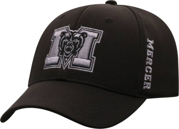 Top of the World Men's Mercer Bears Booster Plus 1Fit Flex Black Hat product image