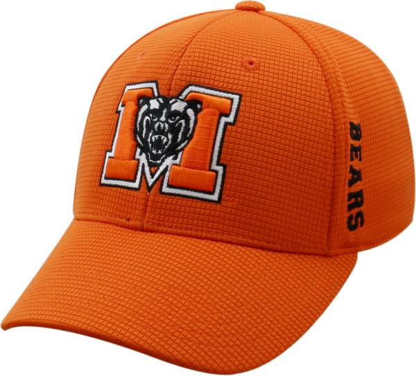 Top of the World Men's Mercer Bears Grey Booster Plus 1Fit Flex Hat product image