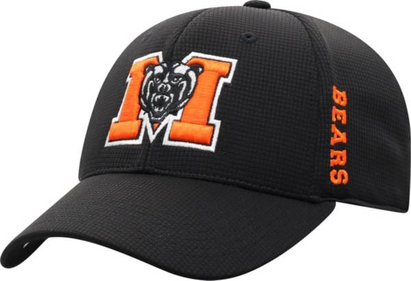 Top of the World Men's Mercer Bears Booster Plus 1Fit Flex White Hat product image