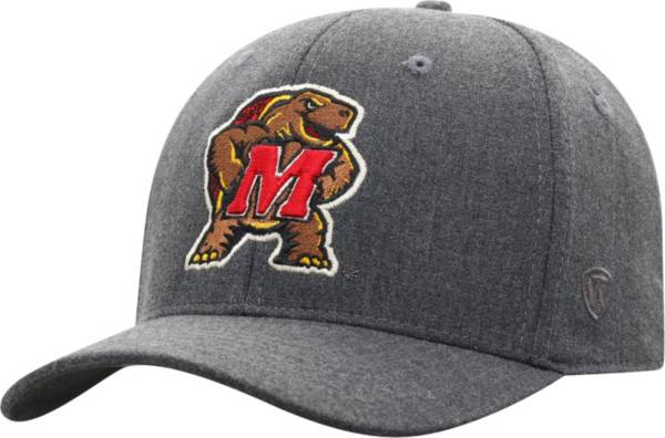 Top of the World Men's Maryland Terrapins Grey Alpha 1Fit FlexFit Hat product image