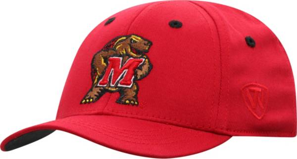 Top of the World Infant Maryland Terrapins Red The Cub Fitted Hat product image