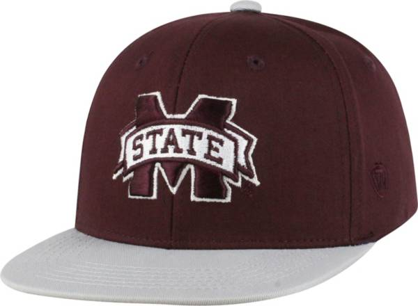 Top of the World Youth Mississippi State Bulldogs Maroon Maverick Adjustable Hat product image