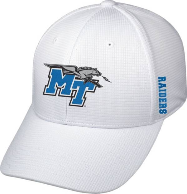 Top of the World Men's Middle Tennessee State Blue Raiders Booster Plus 1Fit Flex White Hat product image