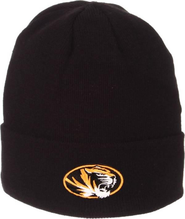 Zephyr Men's Missouri Tigers Cuffed Knit Black Beanie product image