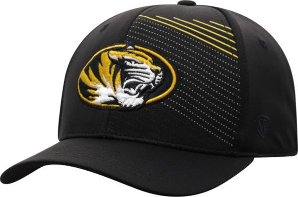 Top of the World Men's Missouri Tigers Sling 1Fit Flex Black Hat product image