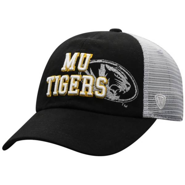 Top of the World Women's Missouri Tigers Glitter Cheer Adjustable Black Hat product image