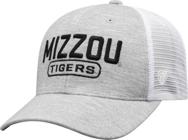 Top of the World Men's Missouri Tigers Grey Notch Adjustable Snapback Hat product image