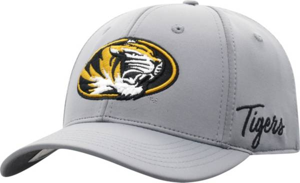 Top of the World Men's Missouri Tigers Grey Phenom 1Fit Flex Hat product image