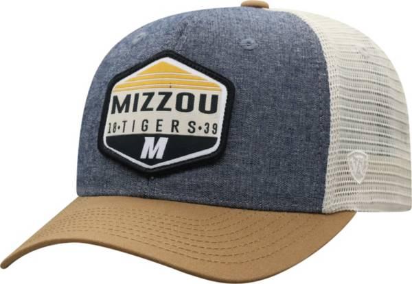 Top of the World Men's Missouri Tigers Grey Wild Adjustable Hat product image