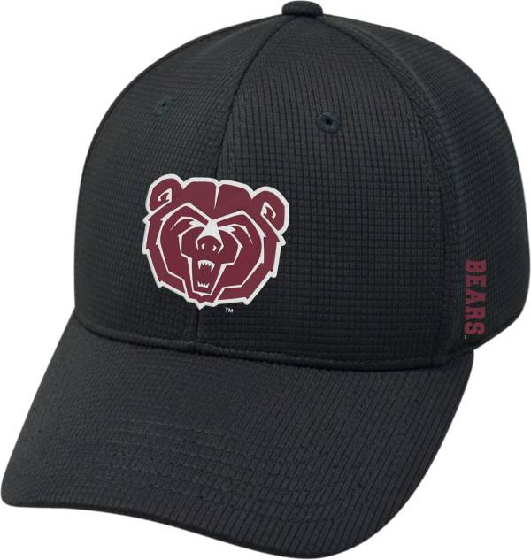 Top of the World Men's Missouri State Bears Booster Plus 1Fit Flex Black Hat product image