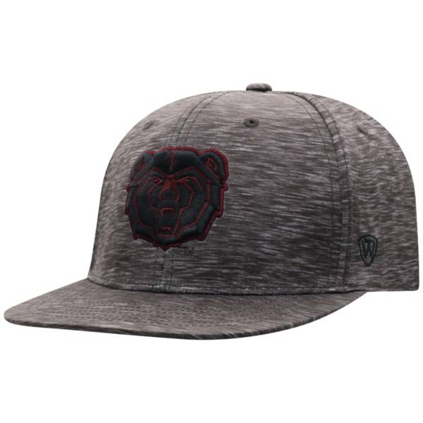 Top of the World Men's Missouri State Bears Gritty 1Fit Flex Black Hat product image