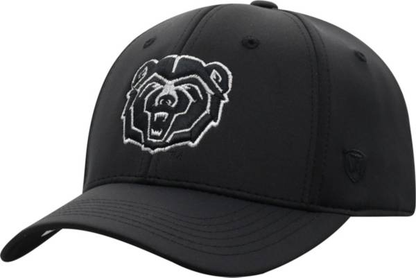 Top of the World Men's Missouri State Bears Phenom 10 1Fit Flex Black Hat product image