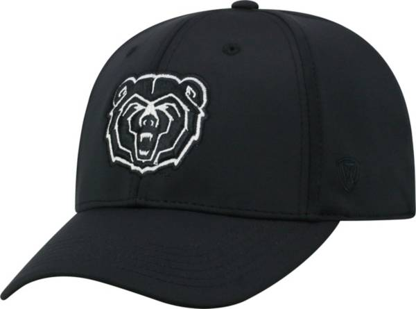 Top of the World Men's Missouri State Bears Tension 1Fit Flex Black Hat product image