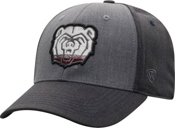 Top of the World Men's Missouri State Bears Grey Powertrip 1Fit Flex Hat product image