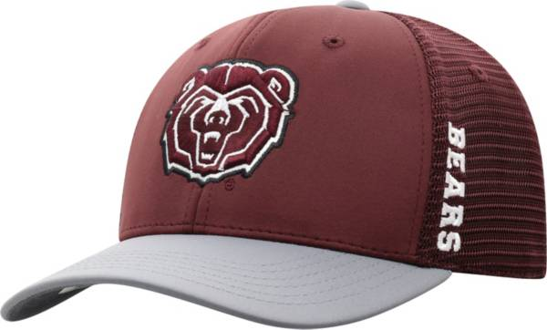 Top of the World Men's Missouri State Bears Maroon Chatter 1Fit Fitted Hat product image