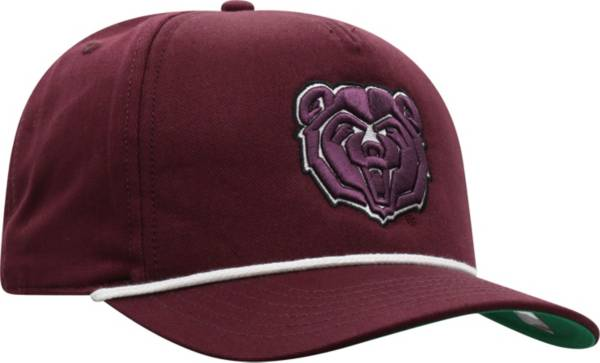 Top of the World Men's Missouri State Bears Maroon Dally Adjustable Hat product image