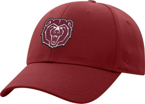 Top of the World Men's Missouri State Bears Maroon Premium 1Fit Flex Hat product image
