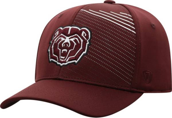 Top of the World Men's Missouri State Bears Maroon Sling 1Fit Flex Hat product image