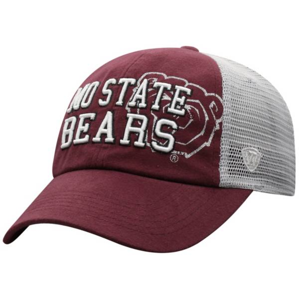 Top of the World Women's Missouri State Bears Maroon Glitter Cheer Adjustable Hat product image
