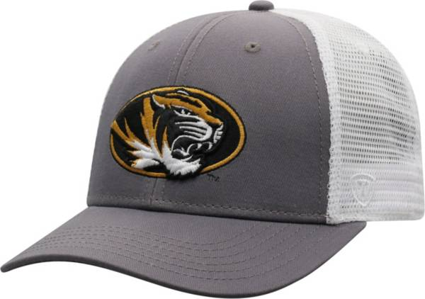 Top of the World Men's Missouri Tigers Grey/White BB Two-Tone Adjustable Hat product image