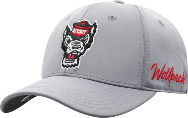 Top of the World Men's NC State Wolfpack Grey Phenom 1Fit Flex Hat product image