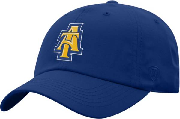 Top of the World Men's North Carolina A&T Aggies Aggie Blue Staple Adjustable Hat product image