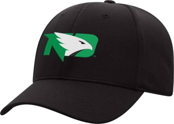 Top of the World Men's North Dakota Fighting Hawks Booster Plus 1Fit Flex Black Hat product image