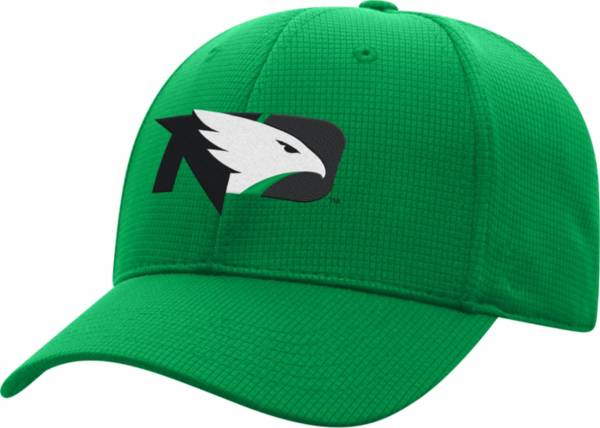 Top of the World Men's North Dakota Fighting Hawks Green Booster Plus 1Fit Flex Hat product image