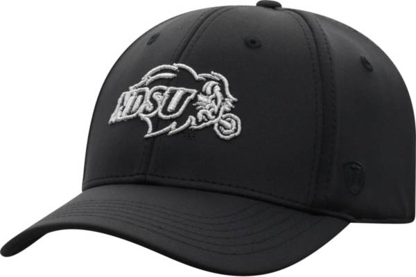 Top of the World Men's North Dakota State Bison Phenom 10 1Fit Flex Black Hat product image