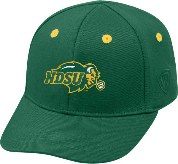 Top of the World Infant North Dakota State Bison Green The Cub Fitted Hat product image