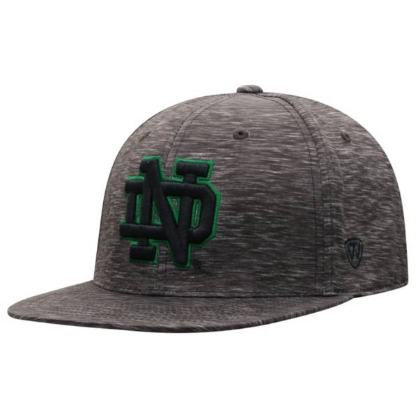 Top of the World Men's Notre Dame Fighting Irish Gritty 1Fit Flex Black Hat product image