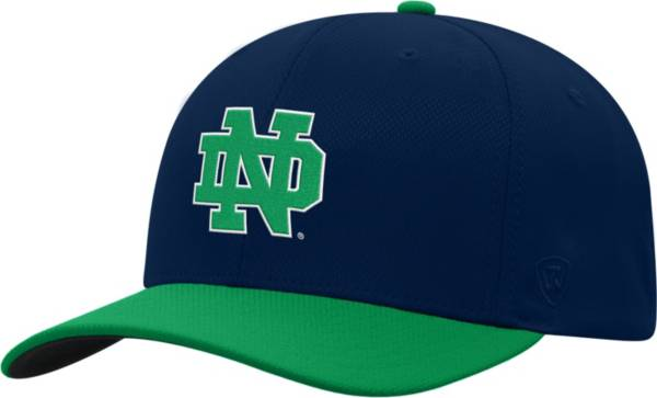 Top of the World Men's Notre Dame Fighting Irish Navy Reflex Two-Tone Fitted Hat product image