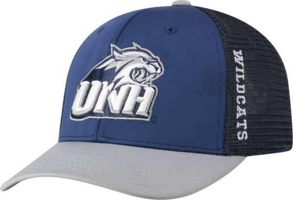 Top of the World Men's New Hampshire Wildcats Blue Chatter 1Fit Fitted Hat product image