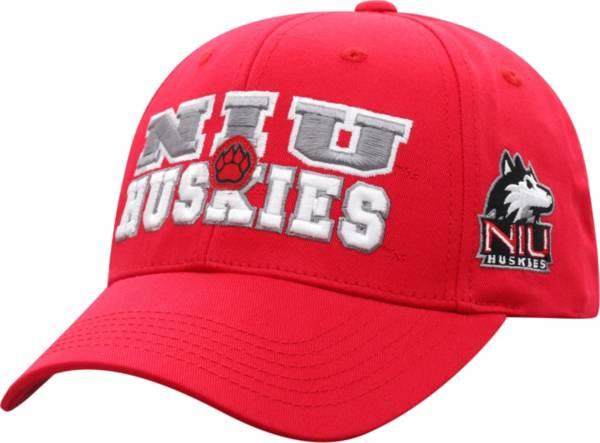 Top of the World Men's Northern Illinois Huskies Cardinal Teamwork Adjustable Hat product image