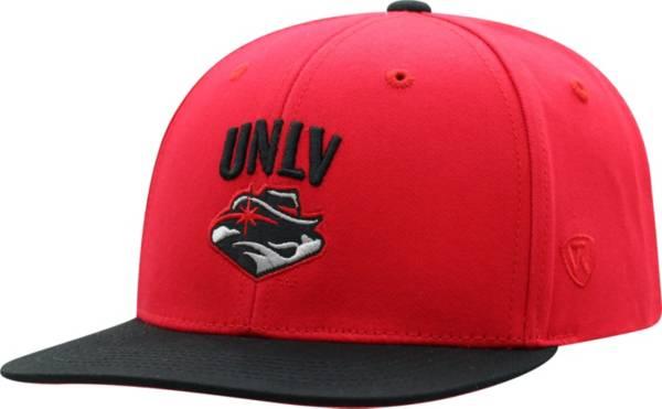 Top of the World Youth UNLV Rebels Scarlet Maverick Adjustable Hat product image
