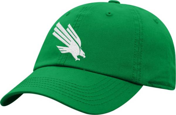 Top of the World Men's North Texas Mean Green Green Crew Washed Cotton Adjustable Hat product image