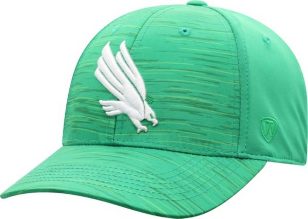 Top of the World Men's North Texas Mean Green Green Intrude 1Fit Flex Hat product image