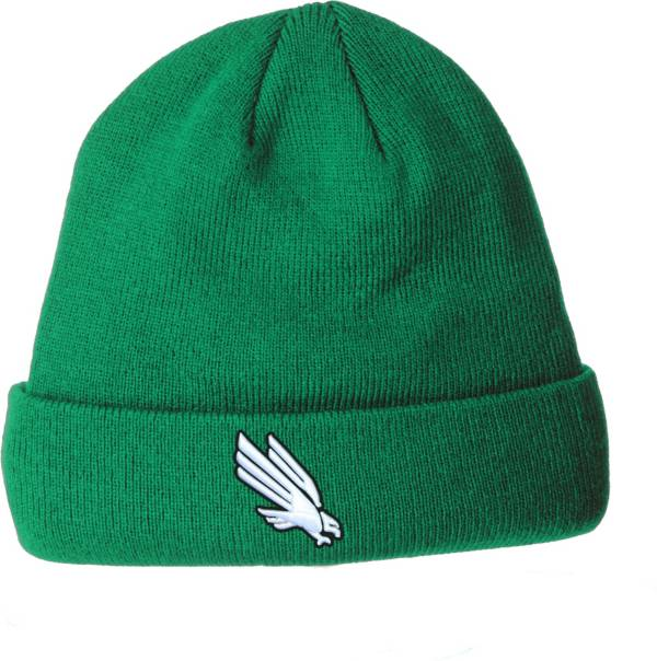 Zephyr Men's North Texas Mean Green Green Cuffed Knit Beanie product image