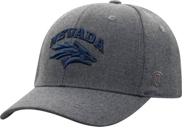 Top of the World Men's Nevada Wolf Pack Grey Alpha 1Fit FlexFit Hat product image