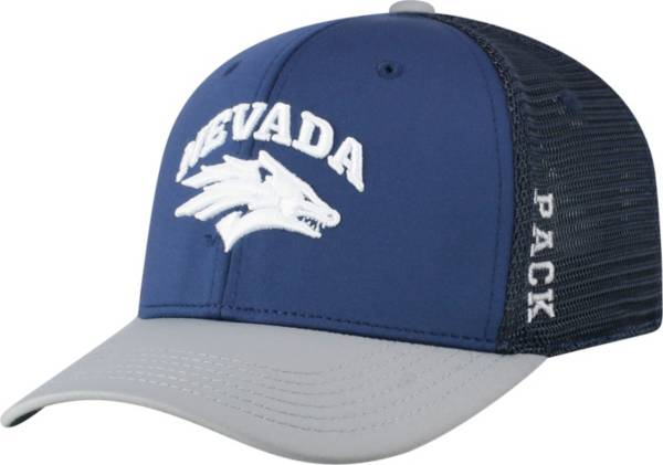 Top of the World Men's Nevada Wolf Pack Blue Chatter 1Fit Fitted Hat product image