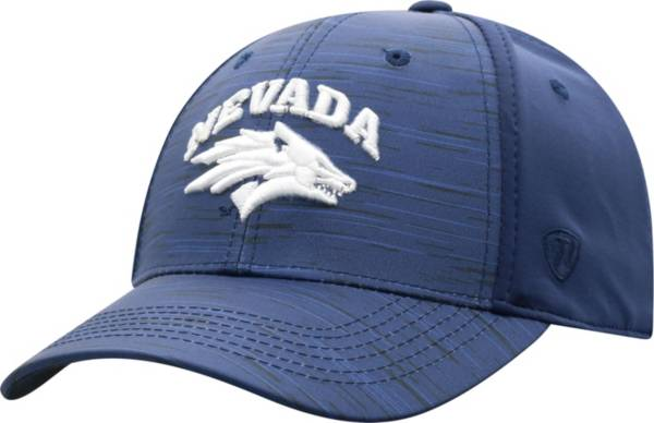 Top of the World Men's Nevada Wolf Pack Blue Intrude 1Fit Flex Hat product image