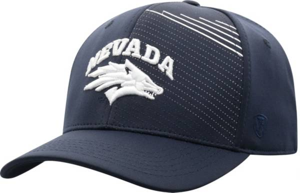 Top of the World Men's Nevada Wolf Pack Blue Sling 1Fit Flex Hat product image
