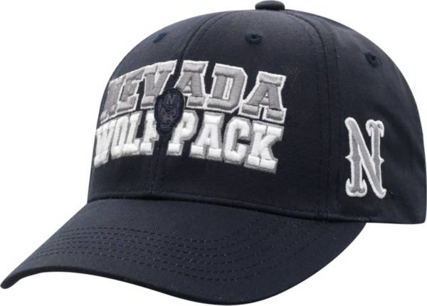 Top of the World Men's Nevada Wolf Pack Blue Teamwork Adjustable Hat product image